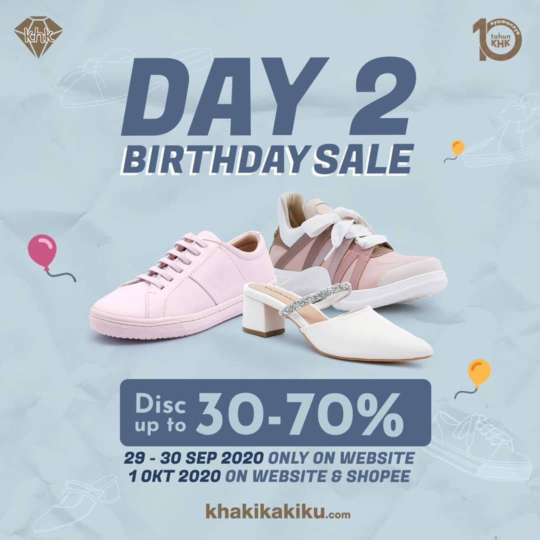 Diskon Khakikakiku Birthday Sale Up To 70% Off