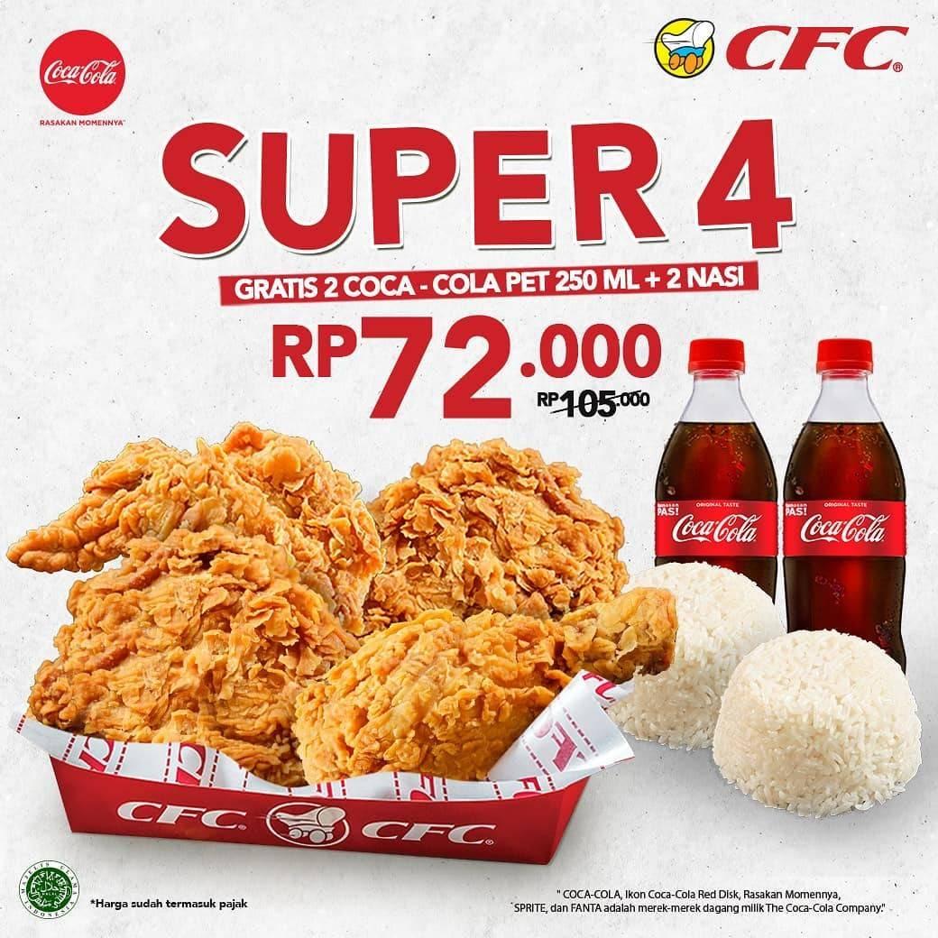 Diskon CFC Promo Super 4