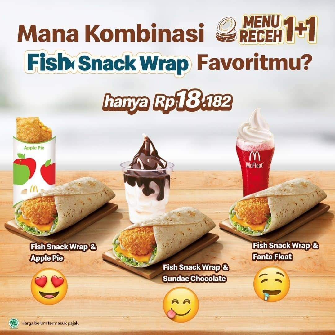Diskon McDonalds Promo Menu Receh 1+1
