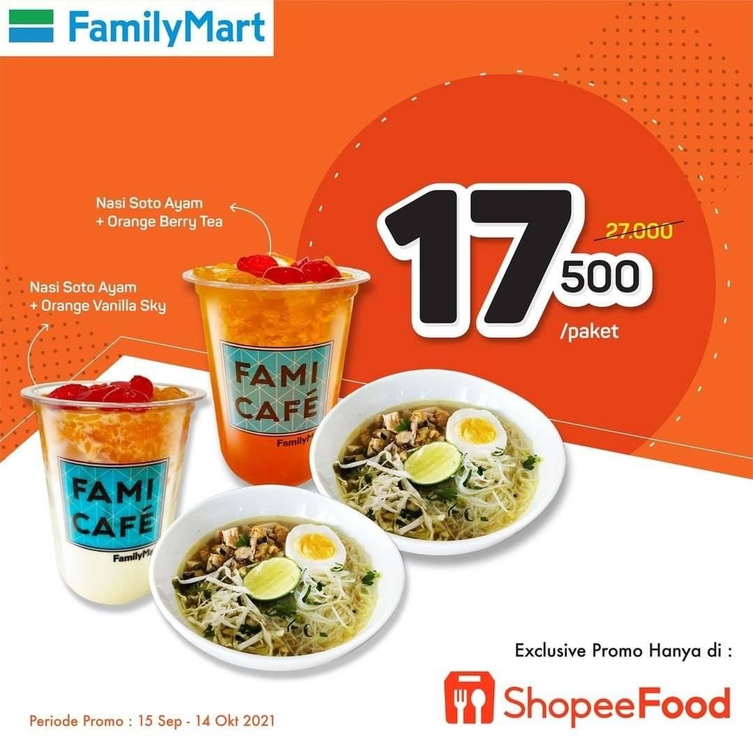 Diskon Family Mart Promo Paket Nasi Soto Ayam Rp 17K
