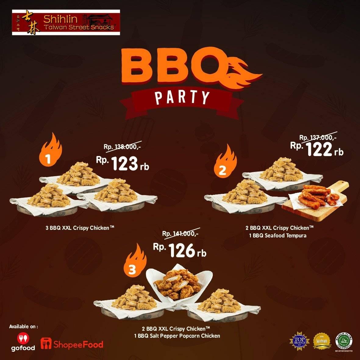 Diskon Shihlin Promo BBQ Party Mulai Rp 123K