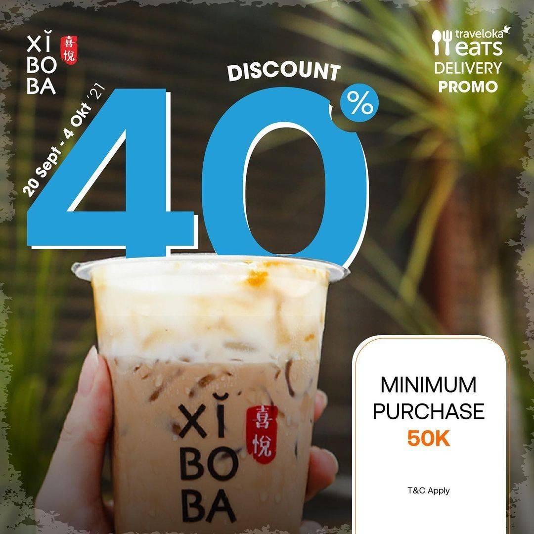 Diskon Xi Bo Ba Promo Diskon 40% dengan Traveloka Eats
