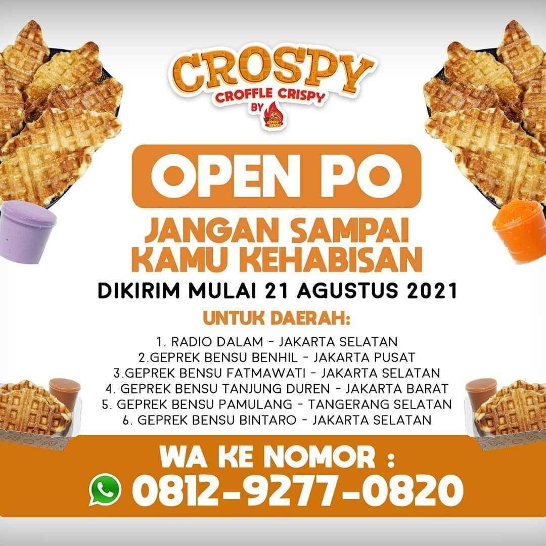 Promo diskon Geprek Bensu Promo Crospy