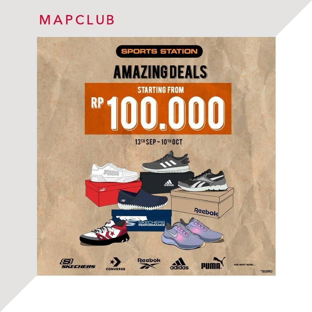 Diskon Sports Station Promo Amazing Deals Mulai Dari Rp 100K di Mapclub