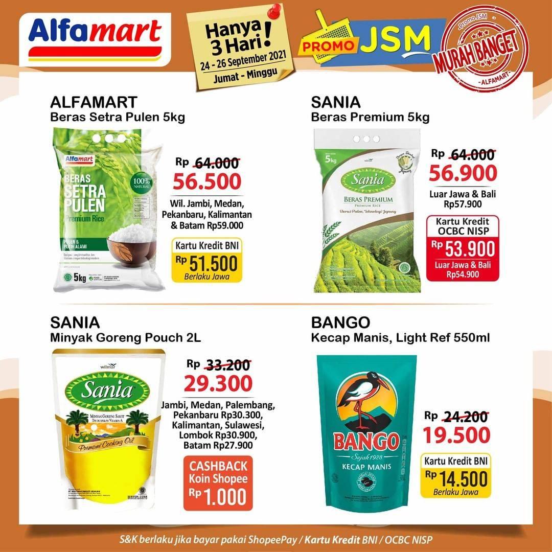 Diskon Alfamart Promo JSM Katalog 24-26 September 2021