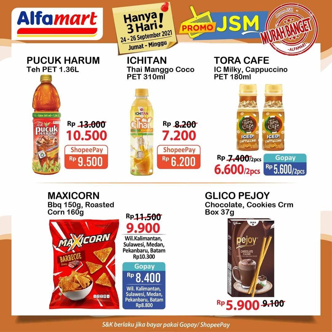 Promo diskon Alfamart Promo JSM Katalog 24-26 September 2021