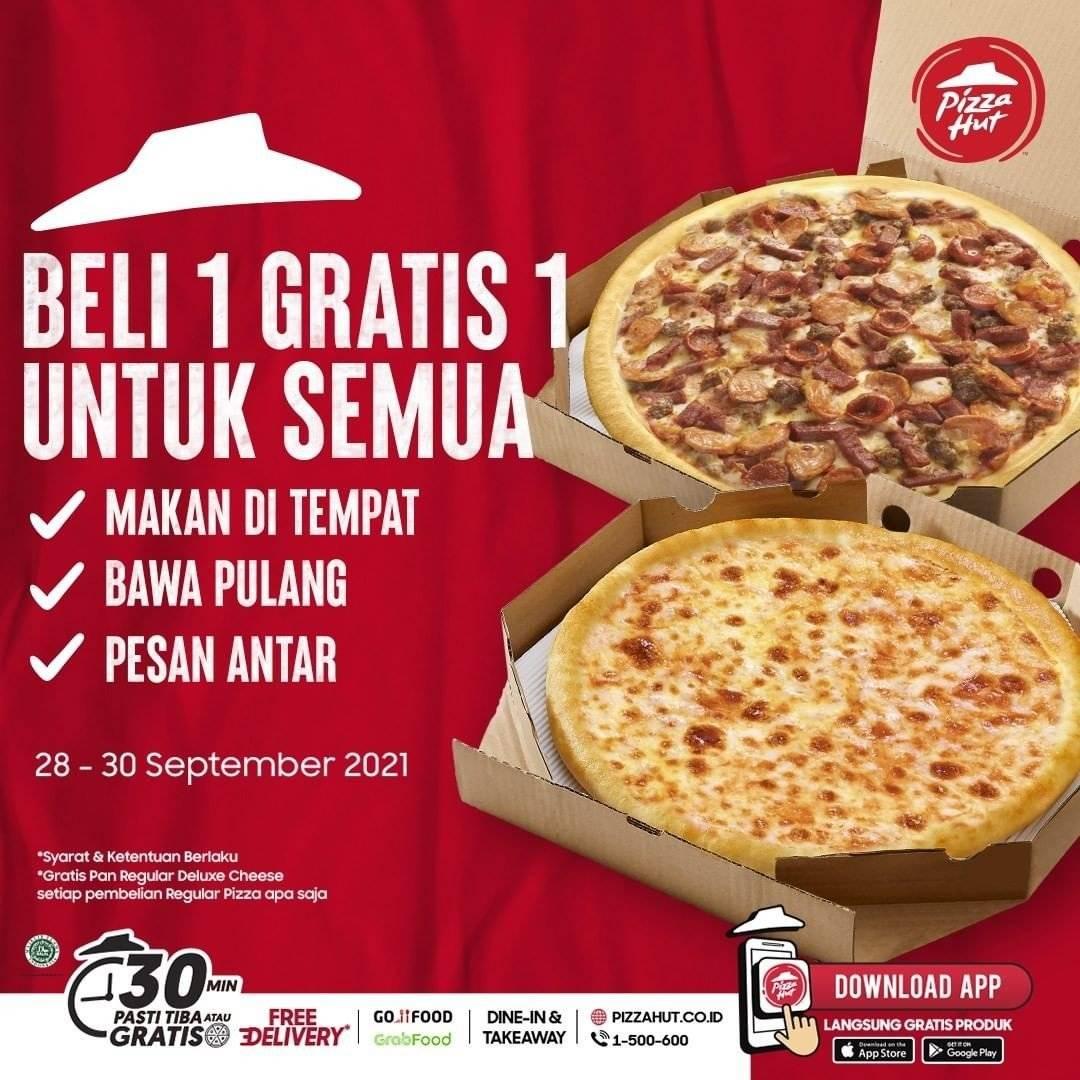 Diskon Pizza Hut Promo Beli 1 Gratis 1